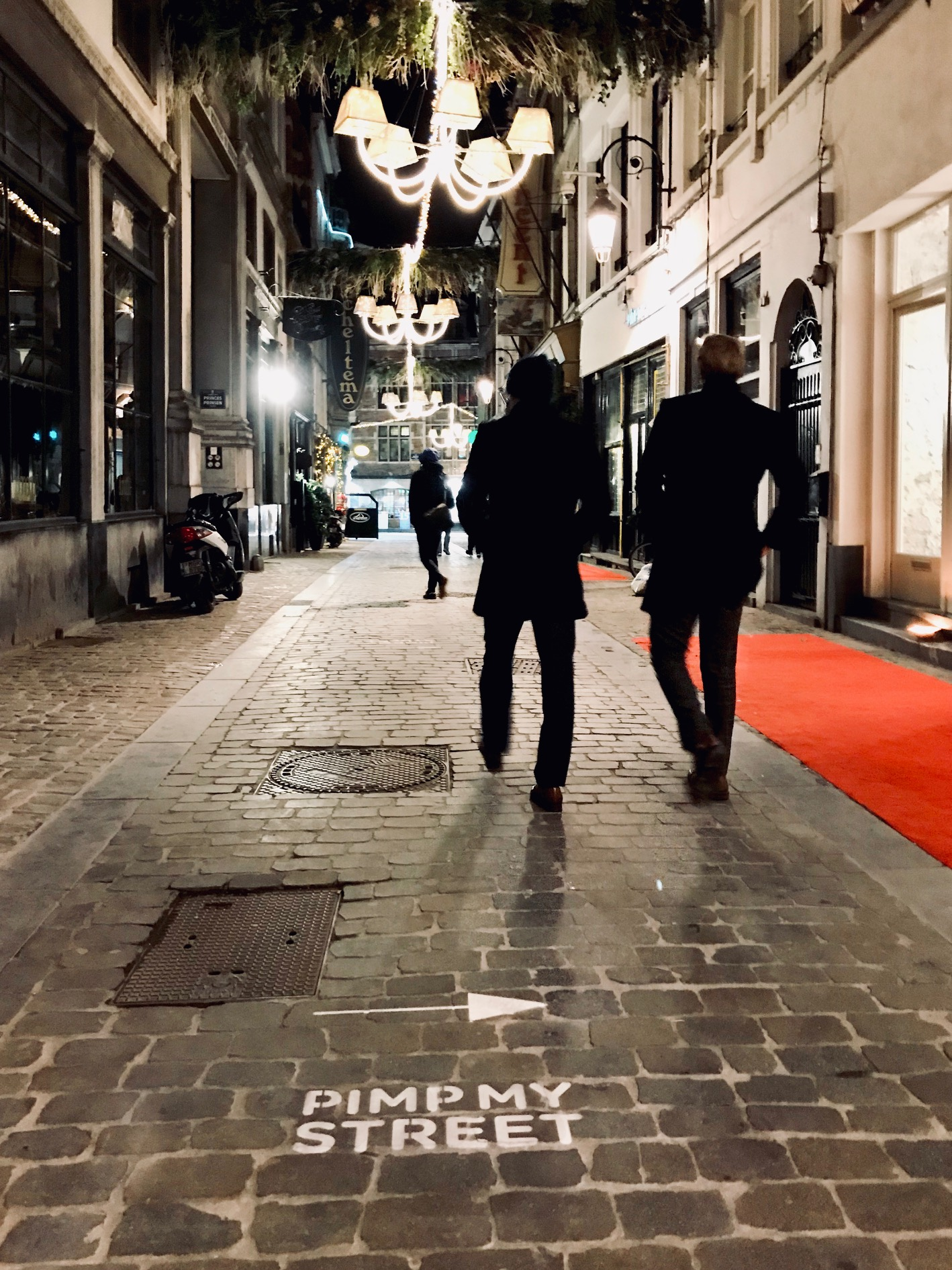 tapis rouge pour vous accueillir...